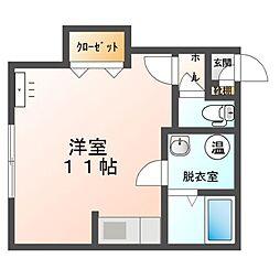M110[2階]の間取り