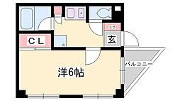 きなみビル[4階]の間取り