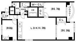 ピアン田代[3階]の間取り
