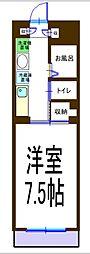 クランメール[2階]の間取り