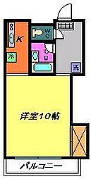メゾン高栄C[306号室]の間取り