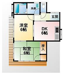 [一戸建] 千葉県大網白里市駒込 の賃貸【/】の間取り