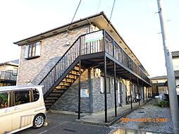 埼玉県所沢市大字荒幡の賃貸アパートの外観
