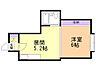 間取り,1DK,面積22.68m2,賃料2.5万円,バス くしろバス合同庁舎下車 徒歩6分,,北海道釧路市南浜町
