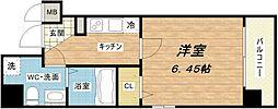 ウエンズ東心斎橋[9階]の間取り