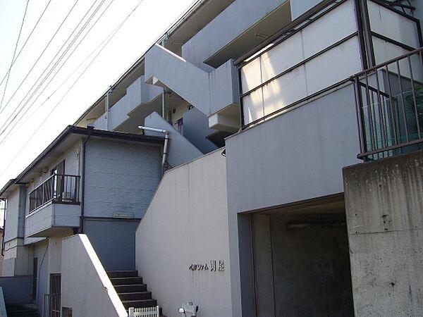 ベルファム関屋[3階]の外観