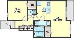 カーサ・エスペランサ4[1階]の間取り