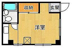 兵庫県西宮市青木町の賃貸マンションの間取り
