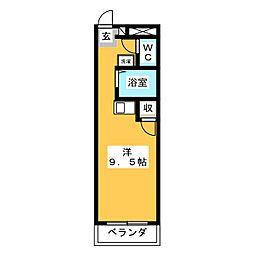 グリーンピュアいなべ[3階]の間取り