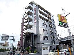 大阪府大阪市東住吉区桑津1丁目の賃貸マンションの外観