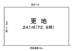 琵琶湖すぐ前 330万売土地