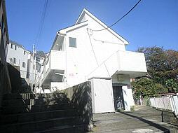 神奈川県横浜市中区本牧町2丁目の賃貸アパートの外観