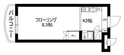 セラ中川 II[1階]の間取り