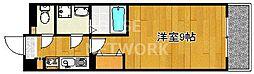 ファーストコート五条若宮(旧アルス若宮)[203号室号室]の間取り