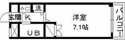 東京都町田市玉川学園2の賃貸マンションの間取り