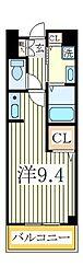 リヴアーサイド・II[2階]の間取り