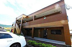 福岡県北九州市若松区大字頓田の賃貸マンションの外観