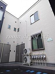 東京都世田谷区粕谷3丁目の賃貸アパートの外観