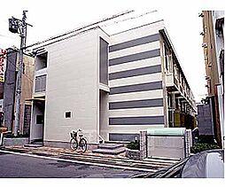 京都府京都市上京区黒門通下立売上る橋西二町目の賃貸アパートの外観