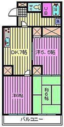 第8池田マンション[101号室]の間取り