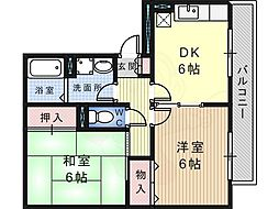 百舌鳥八幡駅 8.1万円