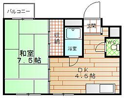 酉島マンション[3階]の間取り
