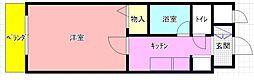 カデンツァK[706号室]の間取り