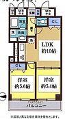 8階建ての7階部分、西向きバルコニーで通風良好です。収納スペースも充実しているので収納に困ることなく広々とし居住スペースで快適に過ごせます。