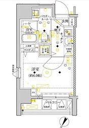 セジョリ横浜ウエスト[2階]の間取り