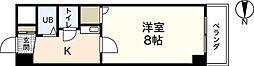 リバーシティー・オガワ[4階]の間取り