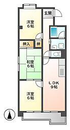 ハイツ桜台[1階]の間取り