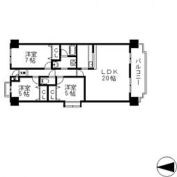 MIITAKAI[501号室号室]の間取り