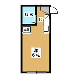 バインオーク クリサンセマム[3階]の間取り