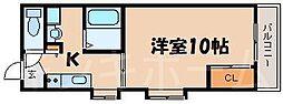 広島県安芸郡海田町昭和町の賃貸マンションの間取り