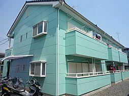 埼玉県加須市花崎2丁目の賃貸アパートの外観
