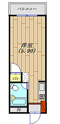 KYビルファンシーマンション生活保護受給者支援賃貸マンション[305号室号室]の間取り
