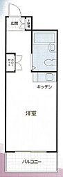 メゾン・ド・ノア元横山[3階]の間取り