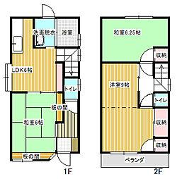 [一戸建] 愛媛県今治市別宮町9丁目 の賃貸【/】の間取り