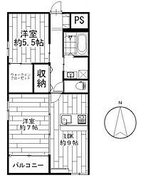 井野駅 8.5万円