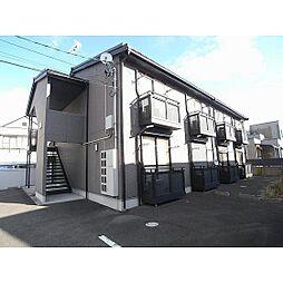 福島県郡山市名郷田2丁目の賃貸アパートの外観