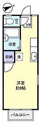 クレセント薬円台[1階]の間取り