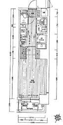 ジアコスモ神戸三宮[7階]の間取り