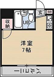 プレアール堂田[409号室号室]の間取り