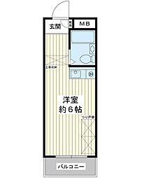 富士見マンション[3階]の間取り