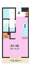 埼玉県さいたま市緑区東浦和8丁目の賃貸マンションの間取り