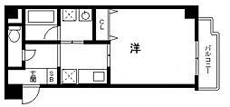 フォーゼ安堂寺[2階]の間取り