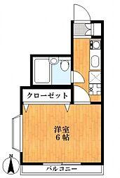メゾンリバティ[2階]の間取り