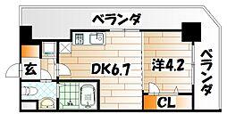 No.71 オリエントトラストタワー[11階]の間取り