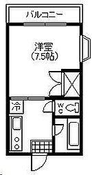 第10シャトーモリオカ[301号室]の間取り