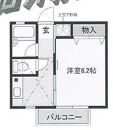 インスラハマノ[1階]の間取り
